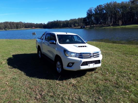 Toyota Hilux Srv 4x4 Año 2016 Extrafull