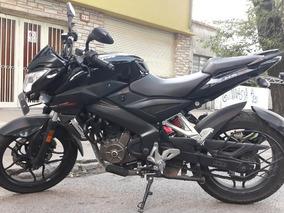 Vendo Bajaj Rouser Ns200 Negra Año 2016 Unico Dueño Usada