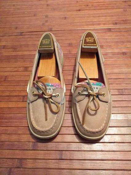 Zapatos Náuticos Dama Marca Sperry Top Sider.