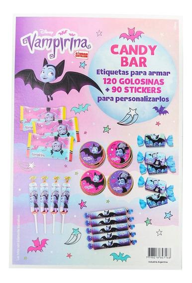 Candy Bar Vampirina 120 Golosin 90 Sticker - Ciudad Cotillón