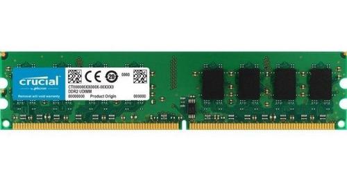 Imagen 1 de 1 de Memoria Ram Pc Ddr2 2gb 800 Mhz Cl6