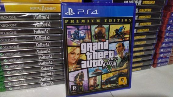 Grand Theft Auto V Gta 5 Ps4 Premium Mídia Física Português