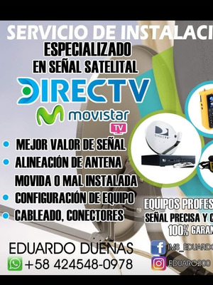 Servicios De Directv Y Movistar Tv Satelital Tv