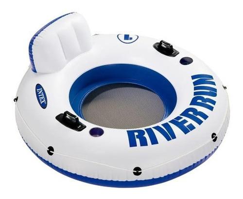 Anillo Flotador Inflable Con Asas + Porta Vasos 58825 River