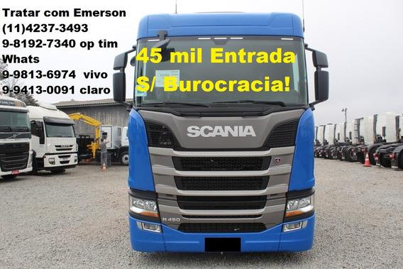 Scania R450 Rodotrem Caçamba