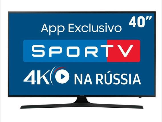 Smart Tv Led 40 Uhd 4k Samsung 40mu6100 Com Hdr Premium