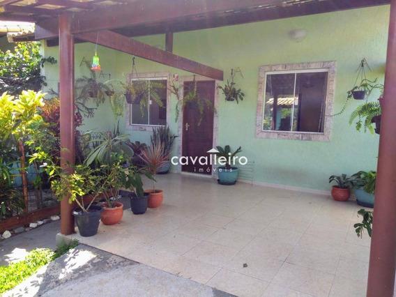 Excelente Casa Próximo À Lagoa E O Mar - Ca3468
