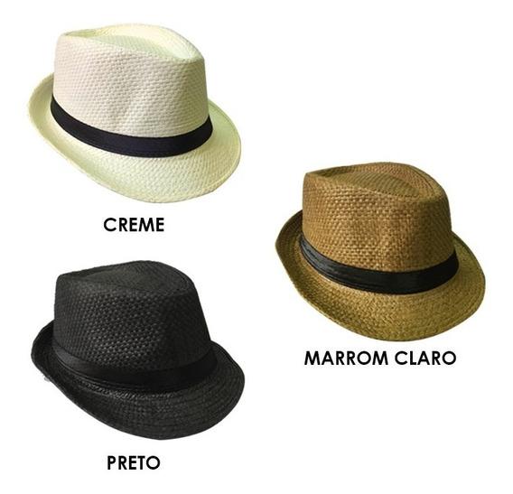 Chapéu Estilo Panamá Social Clássico (unisex)