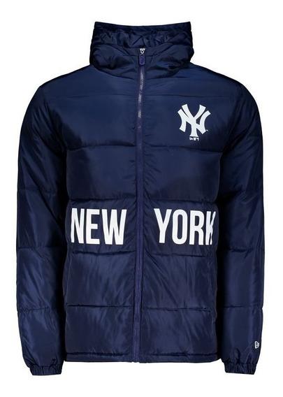 Jaqueta New Era Mlb New York Yankees City Marinho