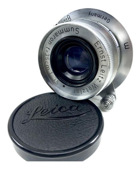 Lente Leica Summaron 35mm 3.5 P/ Leica M9 M10 M240 M6 M7 M8