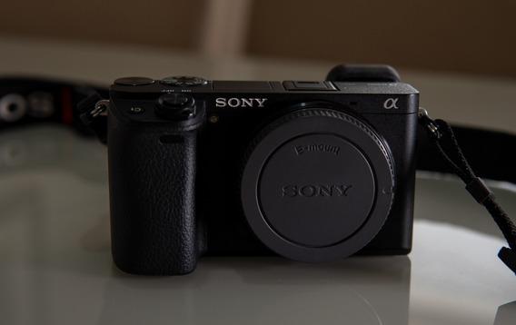 Câmera Sony A6300 4k Com Sensor Aps-c (só Corpo