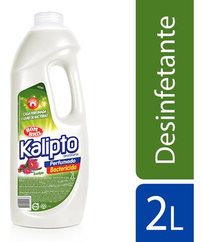 Imagem 1 de 1 de Desinfetante Kalipto Eucalipto 2l