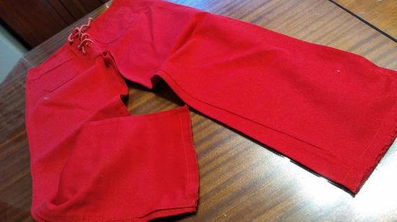 Capri American Style T 24/6. Rojo Cordones