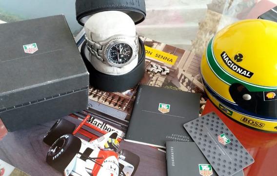 Relógio Tag Heuer Ayrton Senna Original - Edição Limitada