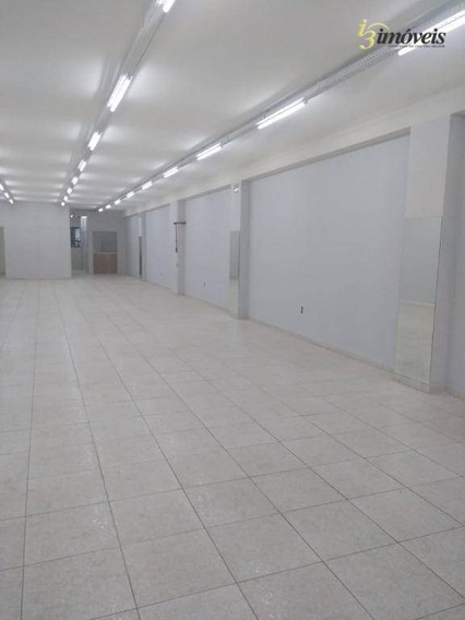 Loja Térrea No Centro De Itajaí, Excelente Ponto Comercial - Sa0122