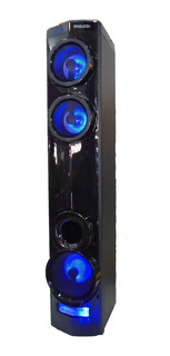 Mini Componente Tower Bluetooth Philco Tap250 Usb Luces