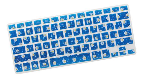 Cobertura Teclado Sillicon Pele Protetor Para Macbook 13-15