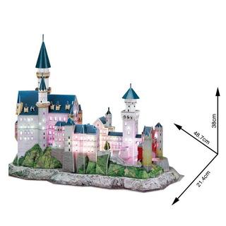 Neuschwanstein Castle Puzzle 3d Led
