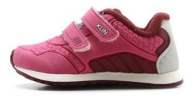 Tênis Klin Menina Mini Walk Rosa | Gaby Calçados