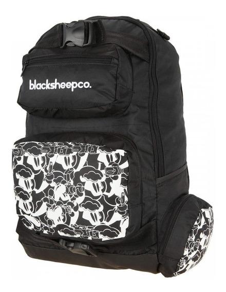 Mochila Skate Bag Black Sheep Original Esporte Escolar Top
