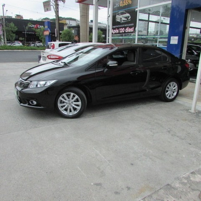 Civic Lxl 1.8 At 2012 Preto