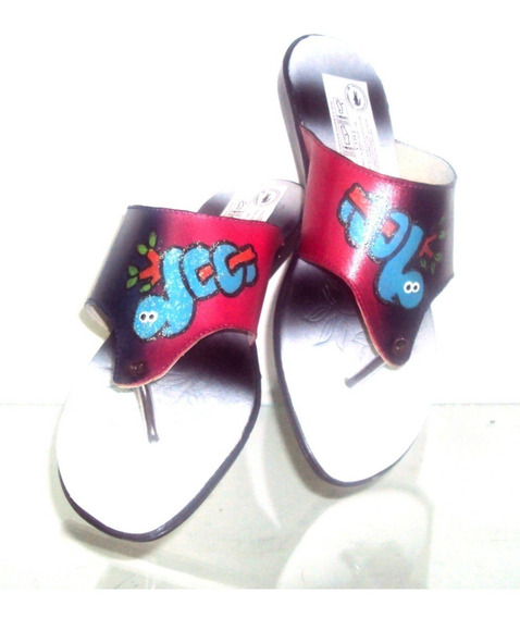 Sandalias De Dama En Cuero, Diseño Y Moda