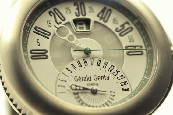 Gerald Charles Genta Arena Bi-retrograde Titânio 2015 Rolex