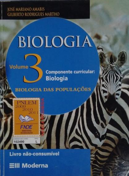 Biologia Vol. 3 Biologia Das Populações. Moderna