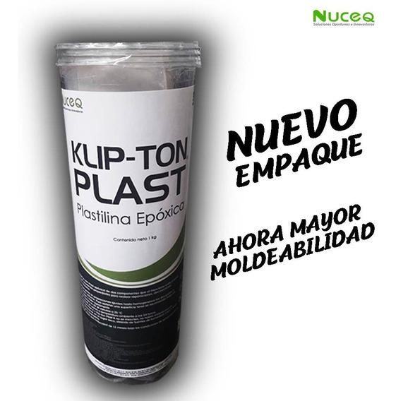 Plastilina Epóxica Para Moldear Klip-ton Plast 1kilo