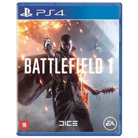 Battlefield 1 Ps4 Mídia Física Lacrado Português