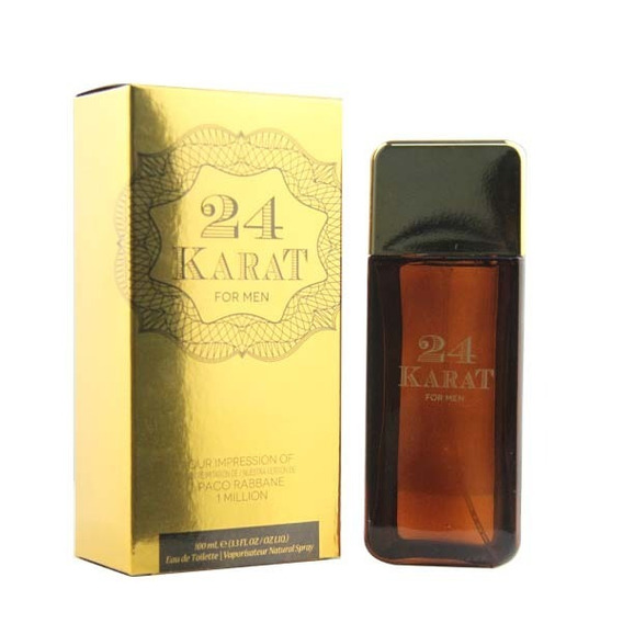 24 Karat Edt 100 Ml - The Preferred Collection