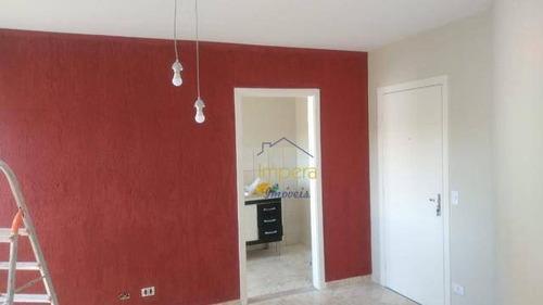 Apartamento Com 2 Dormitórios À Venda, 47 M² Por R$ 140.000,00 - Conjunto Residencial Galo Branco - São José Dos Campos/sp - Ap0534