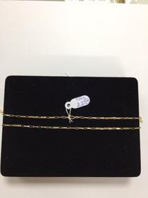 Corrente Masculina Em Ouro 10k Cartier 2,2 Gr - 16