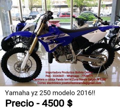 Yamaha 250cc Xzz