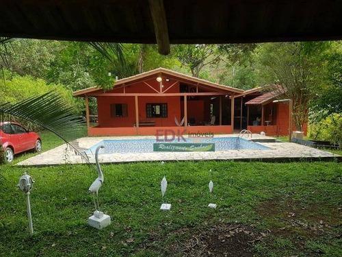 Imagem 1 de 5 de Chácara Com 4 Dormitórios À Venda, 5000 M² Por R$ 380.000,00 - Redencao - Redenção Da Serra/sp - Ch0672