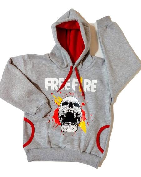 Conjunto Buzo Mas Remera Free Fire