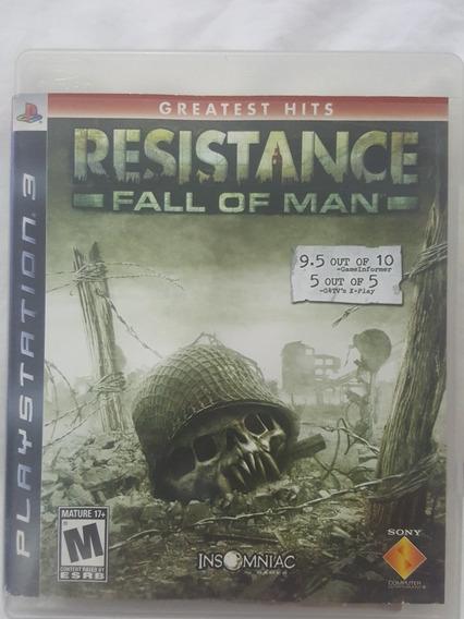 Jogo Ps3 Resistance Original