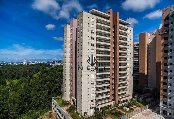 Apartamento Com 3 Suites À Venda, 136 M² No Edifício Boulevard Tamboré - Alphaville - Sp - Ap0234