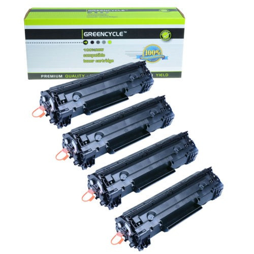 Crg126 4pk (3483b001) Cartucho De Negro Laser Toner Para Can