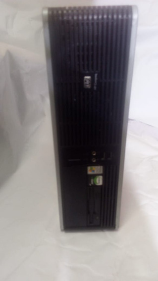 Computador Hp Amd 4000 Gabinete/cpu Completo Hd 80 Memoria 2gb