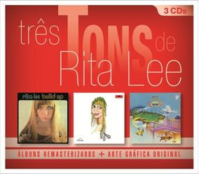 Três Tons De Rita Lee - Box Com 3 Cds