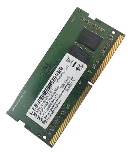 Imagem 1 de 1 de Memória Ram Color Verde  8gb 1x8gb Smart Sf4641g8ck8iehlsbg