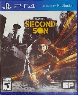 Infamous Second Son Ps4 Fisico Español Original Sellado Nuev