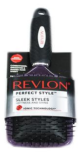 Cepillo Revlon Perfect Style Ionic Cuadrado Con Cojin