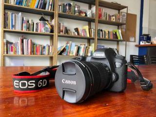 Canon 6d + Lente 24-105 Mm + Tarjeta Lexar 32 Gb + Baterías