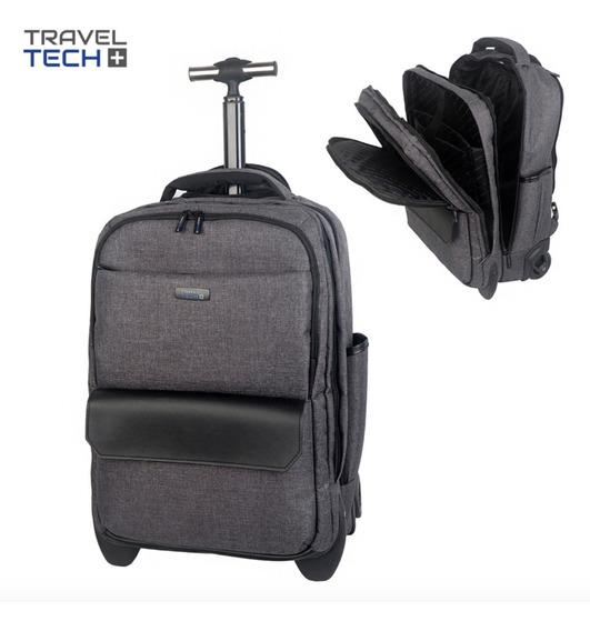 Mochila Carro Travel Tech Con Monocomando Unisex Premium