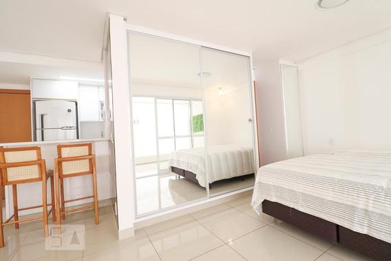 Apartamento No 26º Andar Com 1 Dormitório E 2 Garagens - Id: 892952639 - 252639
