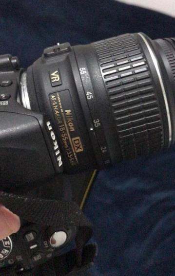 Câmera Nikon D3100 - Novíssima - Af-s Dx Nikkor