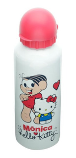 Squeeze Aluminio Hello Kitty Turma Da Monica Oficial 500ml
