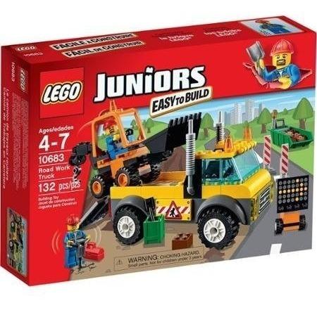 Lego Juniors Road Work Truck 10683 Original